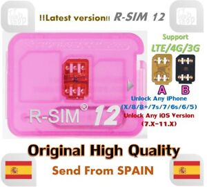 R-SIM12-LTE-4G-Nano-Unlock-Card-for-iPhone-X-8-7-6-5-IOS11-x-RSIM-R-SIM-12