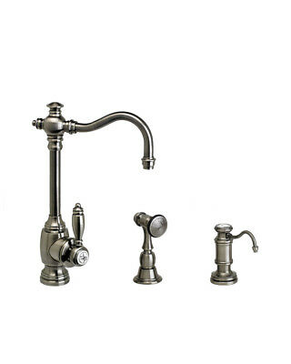 Waterstone 4800-TB Annapolis Single Handle Prep Faucet Tuscan Brass