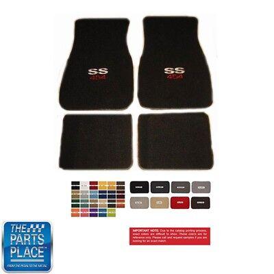 Chevrolet Chevelle Camaro Carpeted Floor Mats Set Ebay