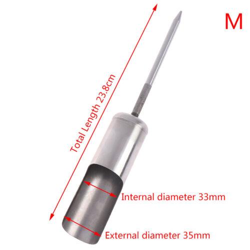1pc Fishing Rod Stand Pole Holder Plug Insert Ground Portable Telescopic  MIL