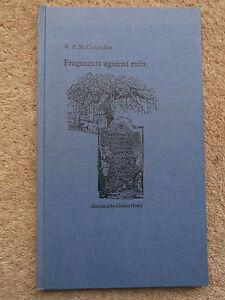 FRAGMENTS-AGAINST-RUIN-BY-W-F-MCCORKINDALE-1969-HARDBACK