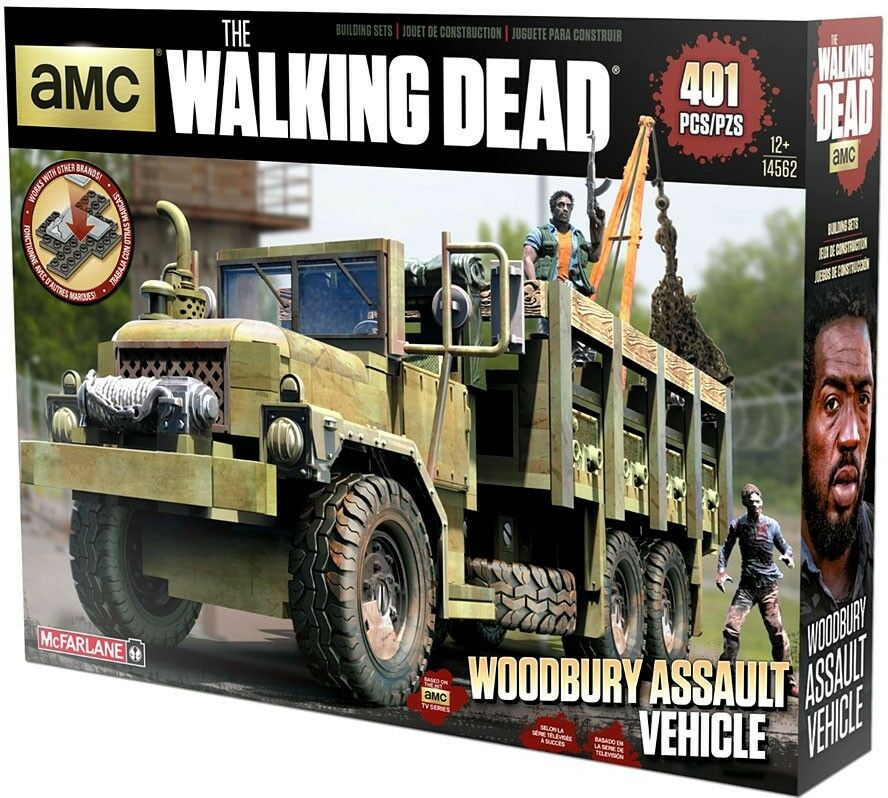 McFarlane Toys The Walking Dead Woodbury Assault Vehicle Building Set