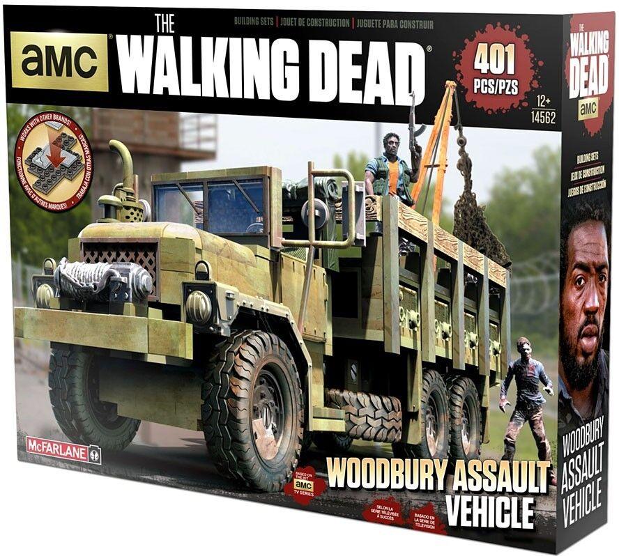 McFarlane giocattoli The Walre Dead Woodbury Assault Vehicle costruzione Set