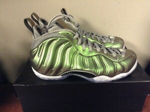 on sale 8167e bab2f Image is loading Wmns-Nike-Air-Foamposite-One-Shine-Dark-Stucco-