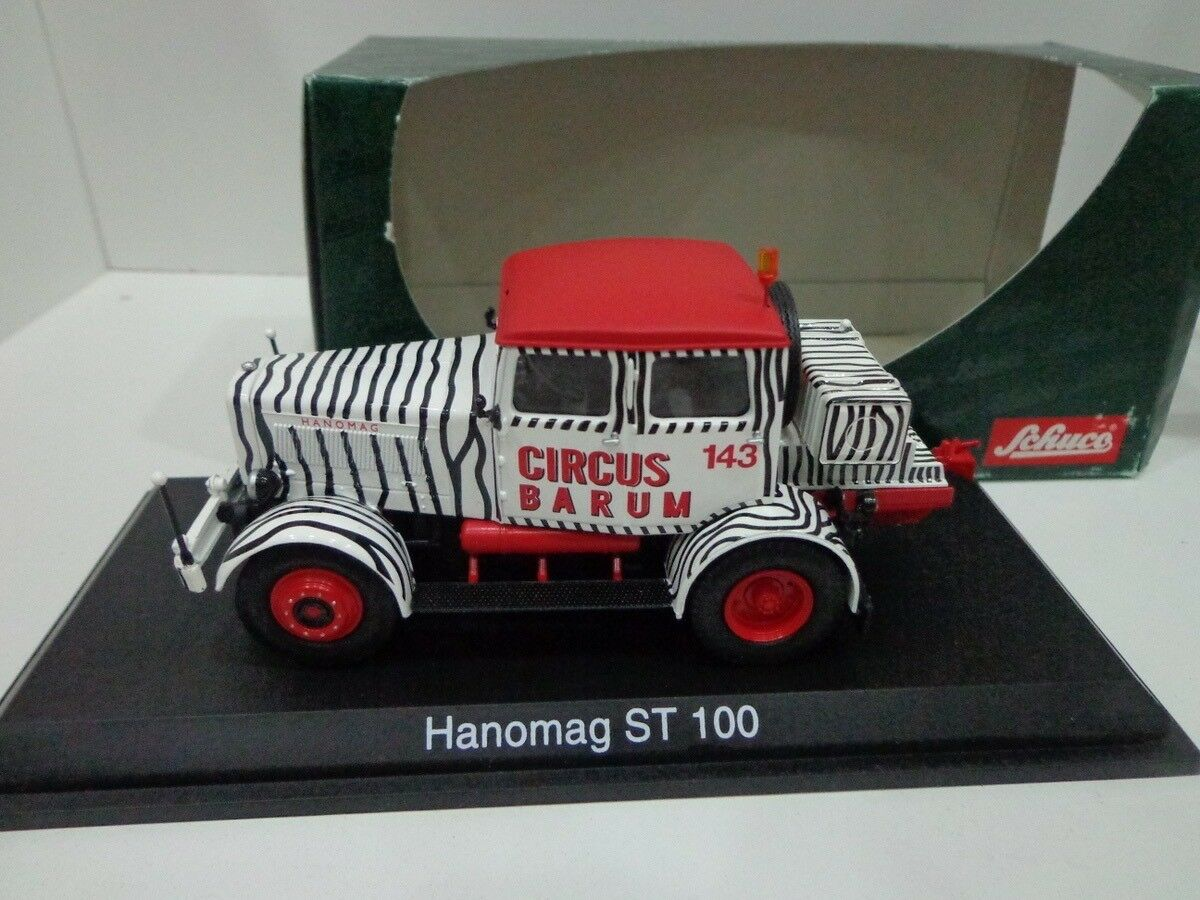 Hanomag ST100 Circo Barum 1 43 Schuco Viejo Stock