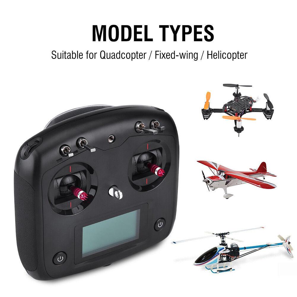 Flysky 2.4G transmisor receptor FS-i6S y FS-iA10B para Helicóptero Quadcopter