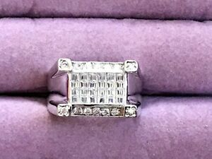Size 11 Unisex Sterling Silver Ring