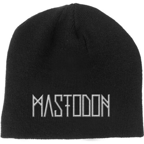 Mastodon Beanie Hat Band Logo Empereur de sable nouveau officiel Noir