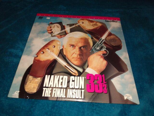 The Naked Gun 33 1/3: The Final Insult (LaserDisc, 1994