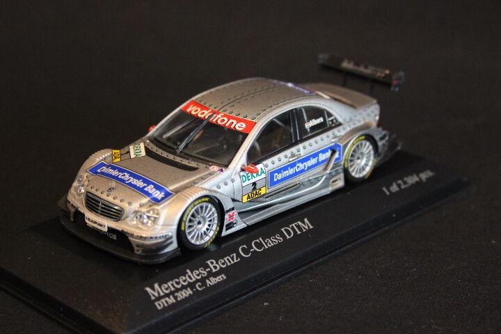 Minichamps Mercedes-Benz C-Class DTM 2004 1 43  2 Christijan Albers (NED) (JS)