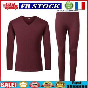 2pcs Seamless Fleece Clothes Set Letter Men Fitness Jumper Pants (Red 3XL)