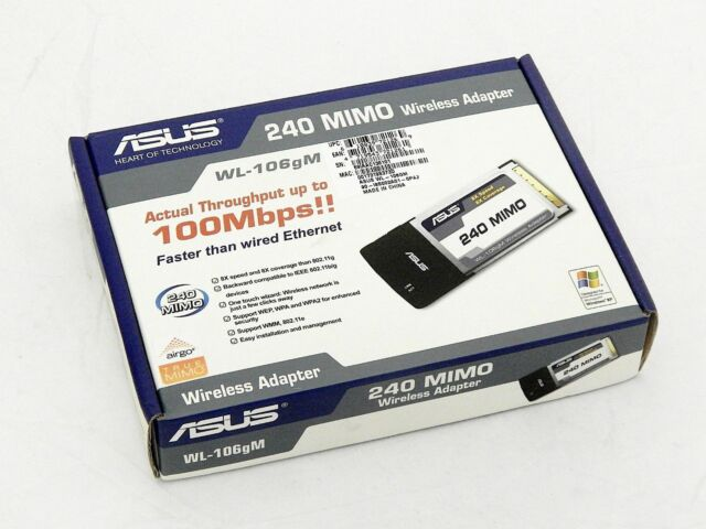 MIMO WIRELESS LAN CARDBUS PCMCIA ADAPTER DOWNLOAD DRIVERS