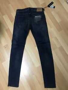 NWD-da-Uomo-DIESEL-Sleenker-085AE-Stretch-Denim-Blu-Scuro-Slim-W31-L32-H6-170