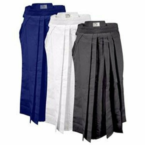 Hakama Ayabuza 65 polyester et 35 coton noir