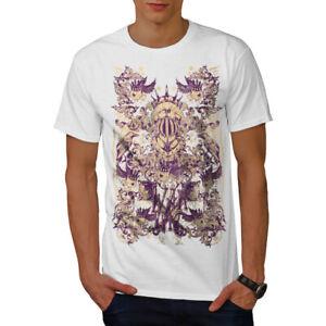 Wellcoda-War-Inc-Zombie-Mens-T-shirt-Monster-Graphic-Design-Printed-Tee