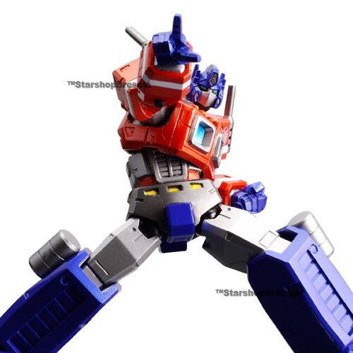 TRANSFORMERS - Legacy Revoltech N.008 Optimus Prime Figurine Kaiyodo