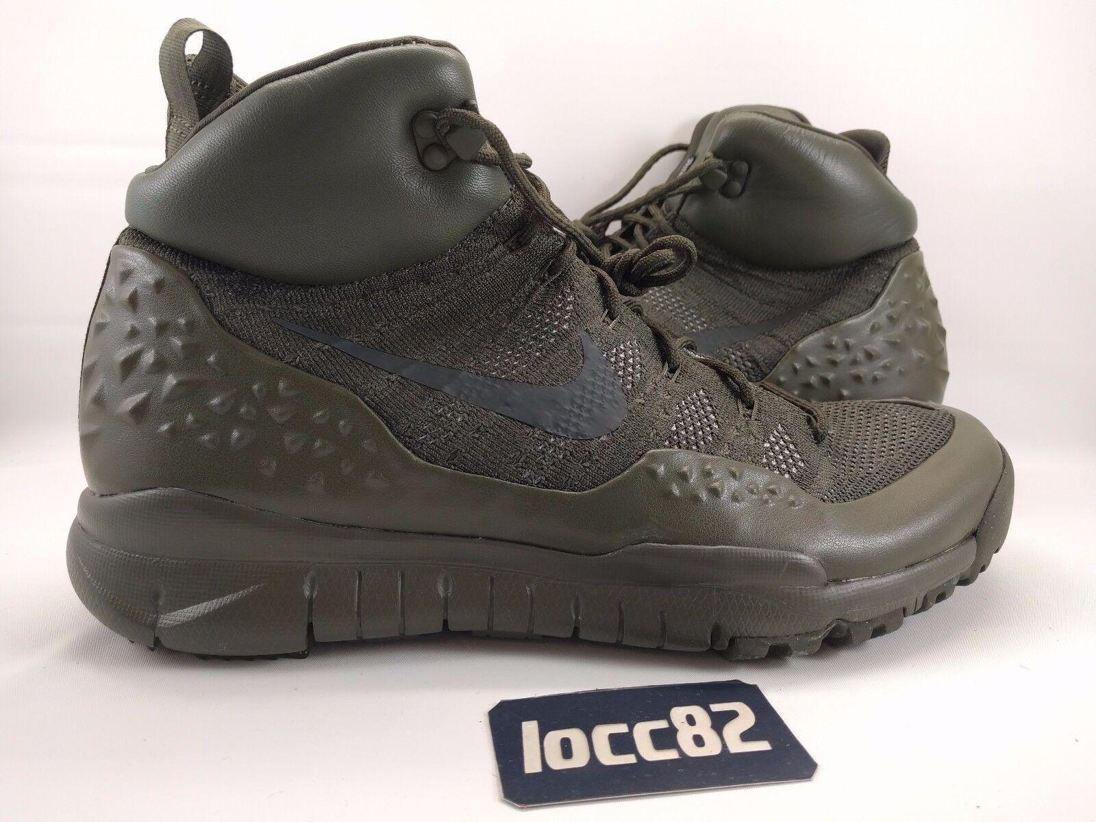 Nike uomini lupinek flyknit sz mimetico 12 [862505 300] dell'esercito mimetico sz d3adfc