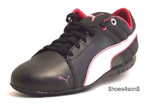 1 Blanco 1 Running Puma Zapatillas 5 7 deporte Cereza casuales Chat Negro Women de Tamaño qqUtv