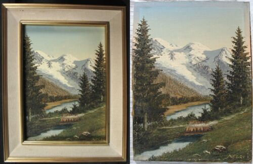 tableaux montagne collection sur ebay. Black Bedroom Furniture Sets. Home Design Ideas