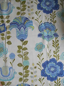 250cm HARLEQUIN Lilia cotton curtain fabric  vintage scandi nordic chic - <span itemprop='availableAtOrFrom'>Carnforth, United Kingdom</span> - 100% satisfaction guaranteed - if for any reason you wish to return the item, please advise me within 7 days of reciept. I will refund the full cost of the item, less any postage costs  - Carnforth, United Kingdom