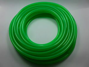 50&#039; 1/4&#034;ID / 6mm Fast Flow Fuel Line for Cycle/ATV/Jets<wbr/>ki/Snowmobile/<wbr/>Cart GREEN