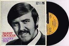 "BARRY CROCKER - DANNY BOY - RARE 7"" 45 EP VINYL RECORD w PICT SLV - 1969"