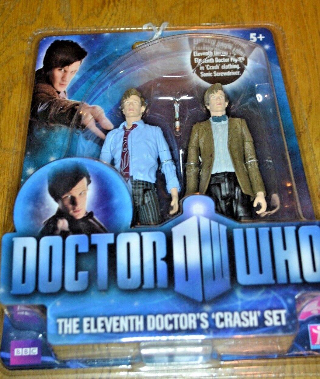 Modern Vintage Dr Who Action Figure The Eleventh Doctor's Crash Set; Unopened