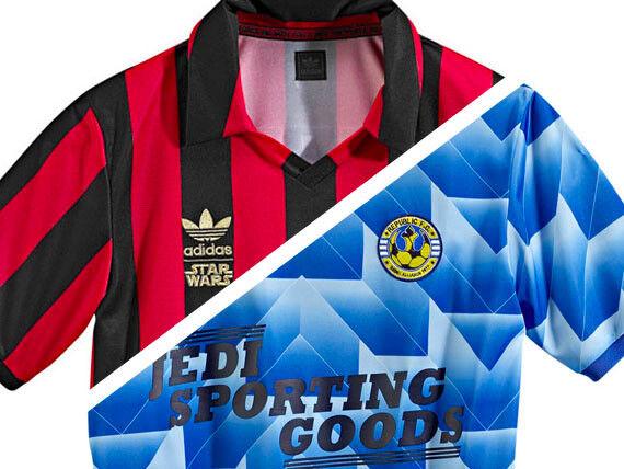 Star Wars Adidas Fußball-Fußball-Shirt-Pack FC Skywalker & amp;FC Vader MENS M
