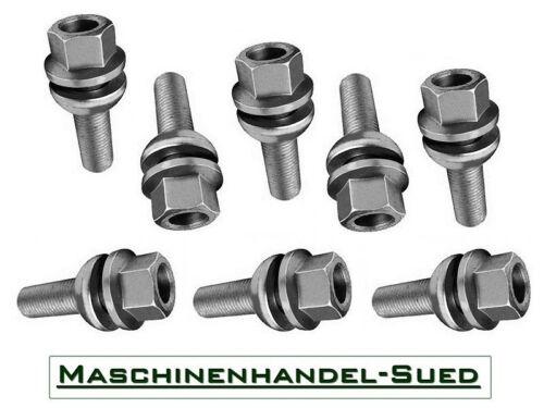 20 Radschrauben M14 x 1,5 x 35 für VW Amarok mit Kugelbund zwei-teilig