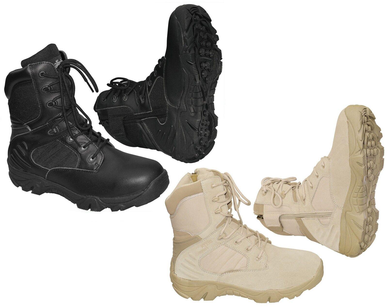 Outdoor Boots Springer Army Stivali escursioni a piedi-Stivali Stivali combattimento Army Springer Delta Force f3e0b6