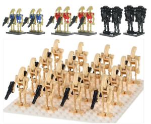 Armee-Droide-custom-LEGO-minifigure-Star-Wars-troupes-Multi-Lot-de-20-droides-12-95