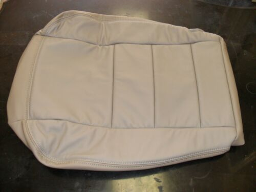 2002 to 2007 Ford F250 F350 Lariat Driver Bottom seat /& Armrest Covers TAN Vinyl