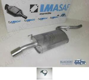 IMASAF ESD Auspuff Endtopf Anbauteile für Alfa 156 SW 1.6 1.8 2.0 16V T.S.