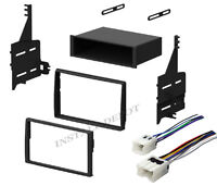 Complete Radio Stereo Install Dash Kit + Wiring Harness For 05-06 Nissan Altima