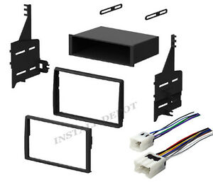 complete radio stereo install dash kit + wiring harness ... 05 altima radio wiring diagram #7