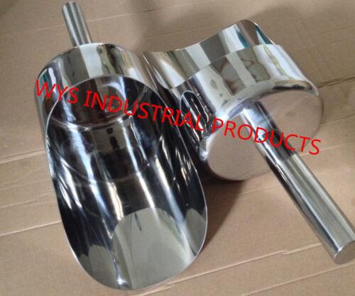 Stainless steel heavy duty sample seamless scoop powder pharmaceutical sampler