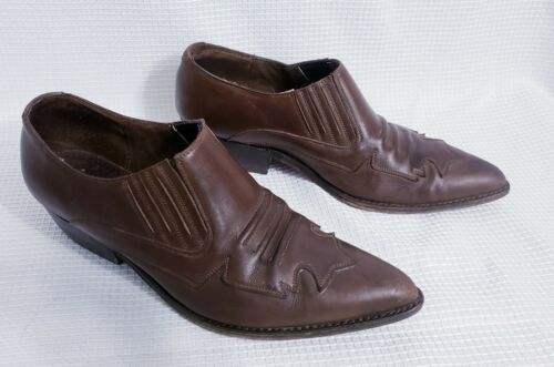 Seychelles Brown Leather Western Cowboy Ankle Boo… - image 1