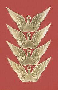 alter-Bogen-4-Paar-Engelsfluegel-Dresdner-Pappe-DIE-CUT-SCRAPS