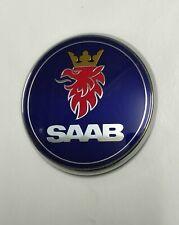 SAAB 93 9-3 03-12 95 9-5 01-10 SAAB BONNET BADGE 12844161 NEW GENUINE SUFFOLK