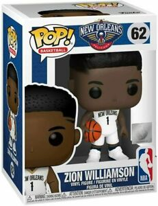 Funko-Pop-NBA-62-Zion-Williamson-Brand-New-Toy-Figure-IN-STOCK-New-Orleans