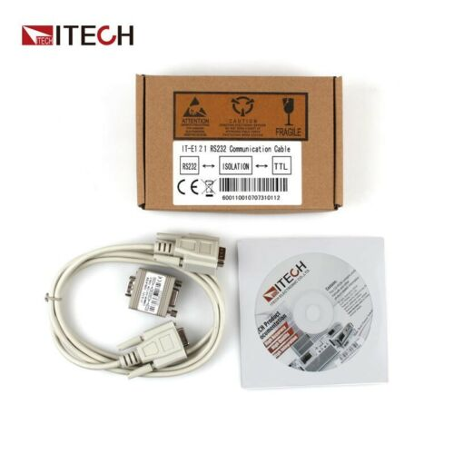 ITECH IT-E121 RS232 Communication Cable For Electronic Loads IT8511 Program