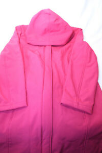 Isaac-Mizrahi-Soft-Shell-Zip-Front-Hooded-Coat-pick-size-color-new