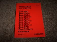 Hitachi Excavator Zaxis 330 350 370 LC LCN H LCH K LCK MTH Parts Catalog Manual