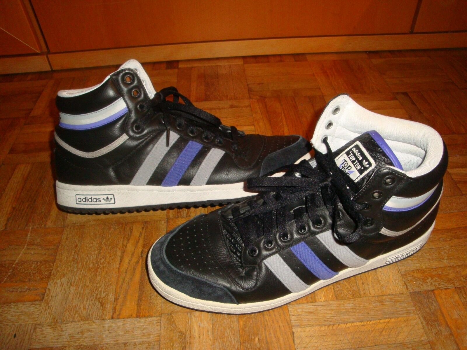 Adidas Top Ten High Used - zapatillas Talla 46 2 3 Occasion - US 12   UK 11,5