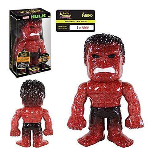 Funko Hikari  Hulk rosso Glitter Premium Sofubi