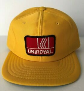 Vintage-UNIROYAL-Tires-Trucker-Hat-Foam-Baseball-Cap-Beco-Young-An-Snapback