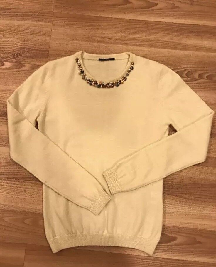 GLENFIELD CASHMERE WOMENS SWEATER , Size L