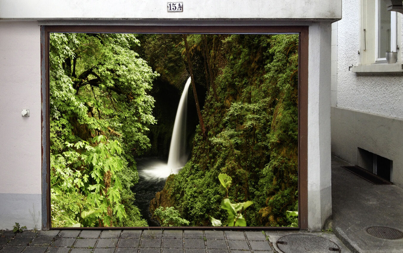 3D Hidden streams Garage Door Murals Wall Print Decal Wall Deco AJ WALLPAPER UK