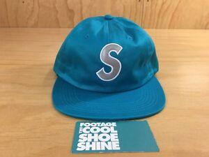 Supreme Reflective S logo 6-Panel Leather Strapback Hat SS16 2016 ... 1c913835234a