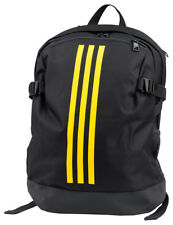 adidas Adult Sport Casual Backpack BP Daily Big Black solar Yellow ... fed2d40cc8318
